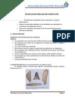 Materiales y Proceso de Fabricacion Tumi
