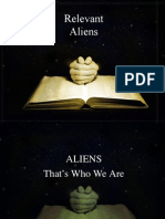 1. Are We Aliens Presentation