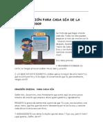 UNA REFLEXIÓN PARA CADA DÍA DE LA CUARESMA 2009