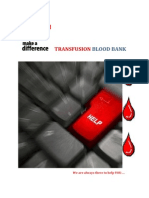 Transfusion Blood Bank