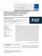 Synthesis, Characterization and Evaluation Of