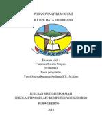 Laporan Praktikum Resmi Tipe Data Sederhana