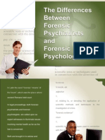 The Difference Between Forensic Psychiatrists and Forensic Psychologists