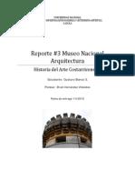 Reporte3 Arquitectura Colonial y de Principios de Siglo