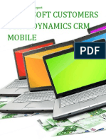 Microsoft Customers using Dynamics CRM Mobile - Sales Intelligence™ Report
