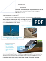 ocean energy      explanation text  done and done