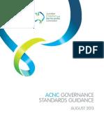ACNC Governance Standards Guidance [PDF 554KB]