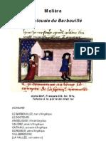 Molière La Jalousie du Barbouillé