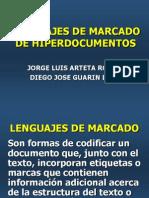 Diapositivas Lenguajes de Marcado Exposicion Copia1