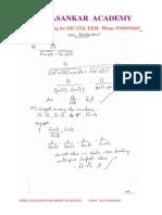 Ssc Cgl Study Materila Algebra