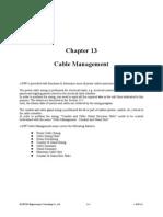 E-DPP - Cable Management