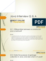 Java Interview Questions & Answers by BestOnlineTrainers
