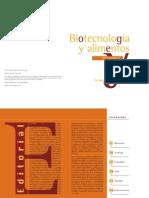Biotecnología y Alimentos