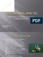 geothermal and oil adil arya power point