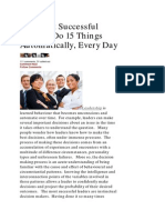 HoopNotes - 2 Apr 2014 - The Most Successful Leaders Do 15 Things Automatically Every Day, Forbes