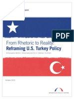 From Rhetoric to Reality- Reframing U.S. Turkey Policy (REPORT)
