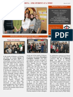 News Leter CSC Moldova -March 2014