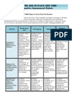 summative rubric  where we are in place and time  edited eric