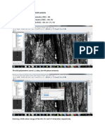 Pre and Post Processing ALOS PALSAR in NEST