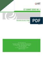 ICT Summit 2- Information Security & PKI Report, November 2013