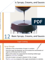 Ch12 Basic Syrups Creams and Sauces