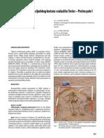 Antropološka analiza ljudskog kostura s nalazišta Torčec -  Prečno pole I