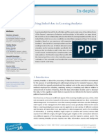Using Linked Data in Learning Analytics