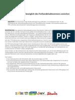 ATTAC Deutschland - TTIP – Verhandlungen bezüglich des Freihandelsabkommens zwischen