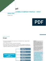 ProcterAndGamble Company Profile SWOT Analysis