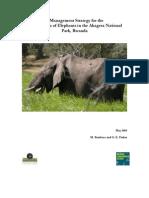 Akagera NP Elephant Management Strategy_2008