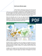 ESPO pipeline and the Eastern Siberian region