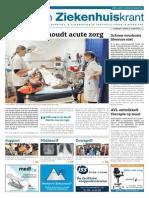 Zorg- en Ziekenhuiskrant, 2 April 2014