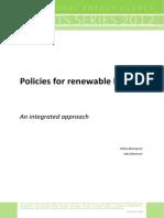 Policies for Renewable Heat