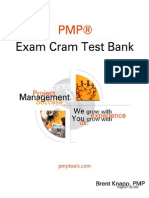 PMP Exam Cram Test Bank