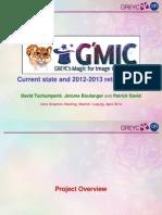 G'MIC presentation slides for LGM'2014