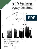 Irvin D. Yalom - Psicología y Literatura - El Viaje de la Psicoterapia a la Ficcion