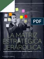 Matriz Estrategica Jerarquica