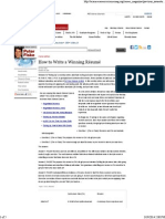 How to Write a Winning Résumé _ Science Careers