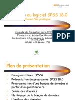 Initiation Au Logiciel SPSS 18