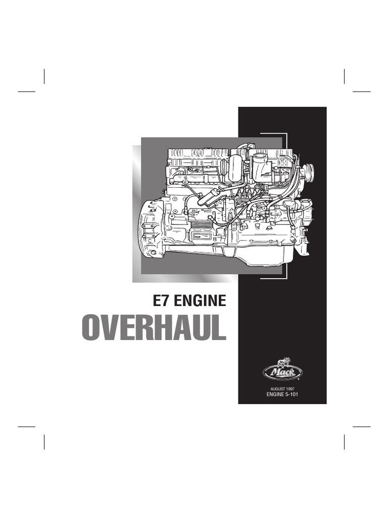 Mack E7 PLN Service Manual (5-101) | Manual Transmission | Safety