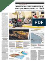 Declaran zona de catástrofe Parinacota, Arica y Tarapacá en Chile