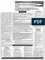 Www.upsc.Gov.in Exams Notifications 2014 Ese Notice ESE-2014 Eng