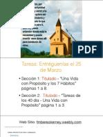 4 proposito -ministerio