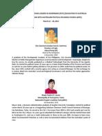 Final List of Philippine Delegates APEC 2014