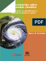 CambioClimatico comunicación plan