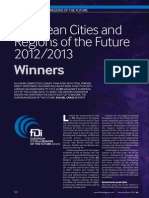 European Cities of the Future 2012 FULL RESULTS