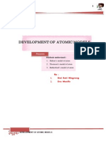 Development of Atomic Models-2