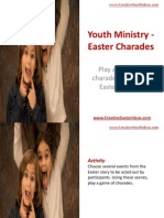 Youth Ministry - Easter Charades