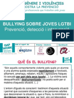 Sessió C(I) Bullying LGTB Gapwork 2014