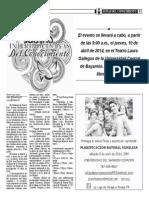 Justas Interdiocesanas Del Conocimiento 2014